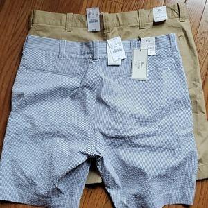 2 pairs of J Crew Shorts
